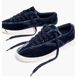 Madewell x Tretorn Nylite Plus Sneakers in Velvet